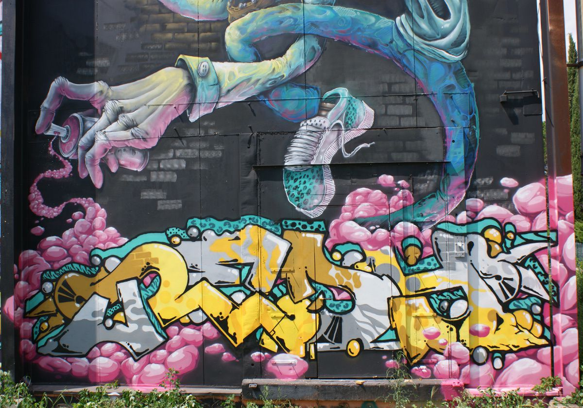 Street Art : Graffitis &amp&#x3B; Fresques Murales 31282 Launaguet