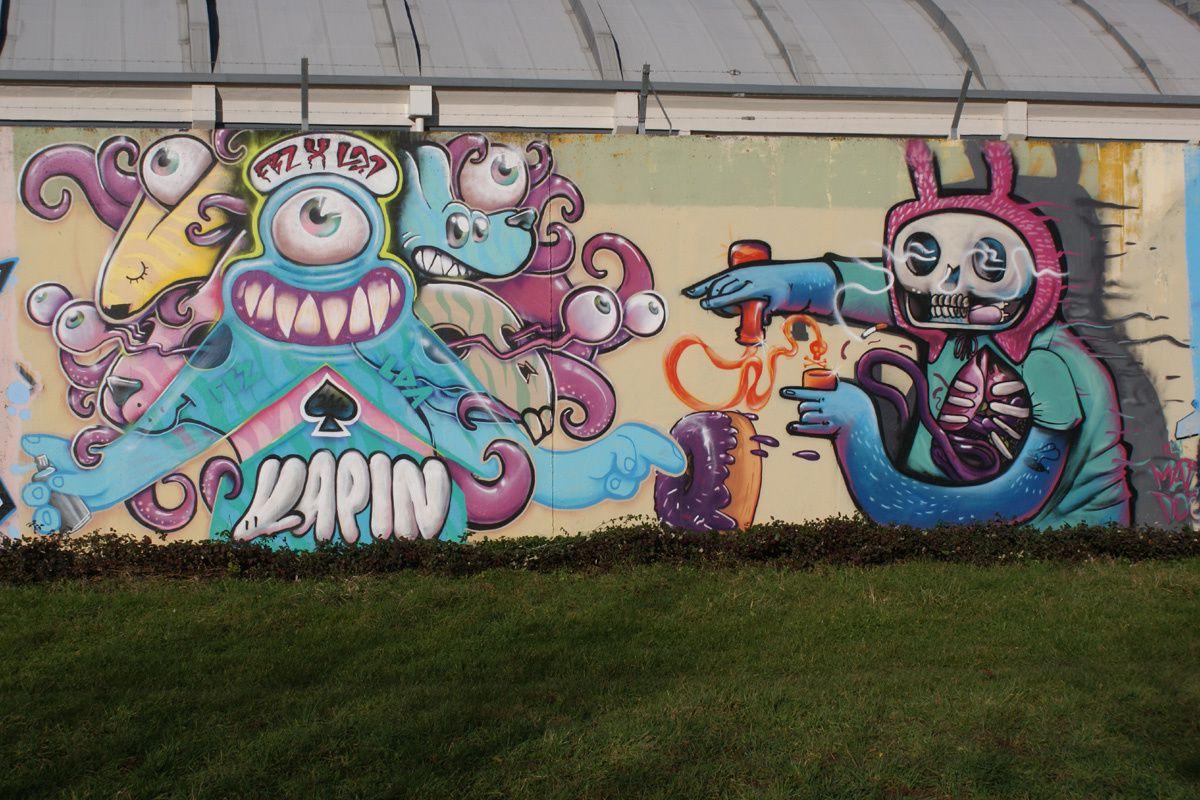 Street Art : Graffitis &amp&#x3B; Fresques Murales 28085 Chartres