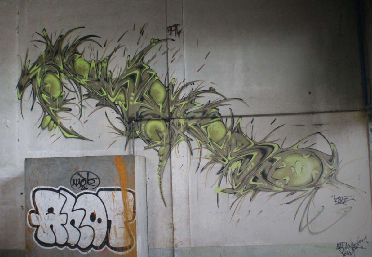 Street Art : Graffitis &amp&#x3B; Fresques Murales 27467 Pont Audemer