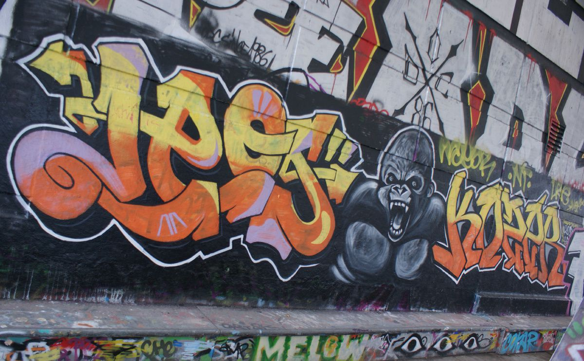 Street Art : Graffitis &amp&#x3B; Fresques Murales 75012 Paris