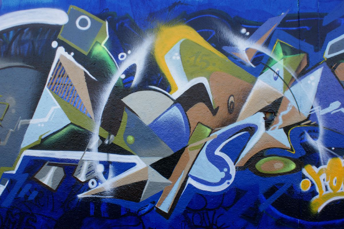 Album - Graffitis IVRY sur Seine Tom 023