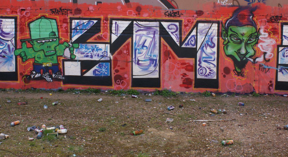 Street Art : Graffitis &amp&#x3B; Fresques Murales 92046 Malakoff