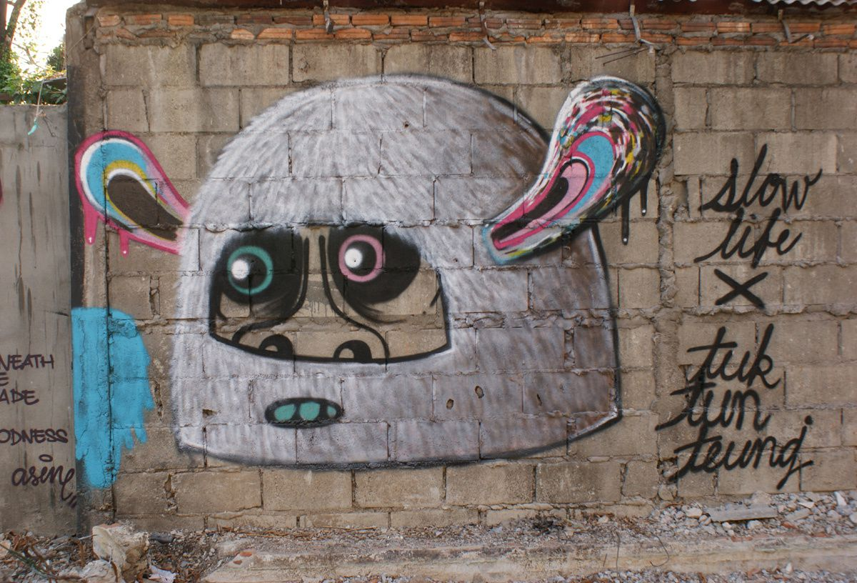Album - Graffitis Thailande