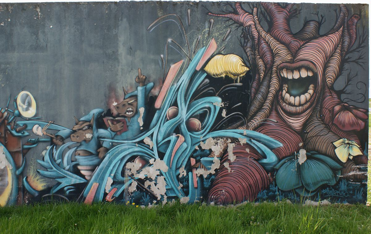 Street Art : Graffitis &amp&#x3B; Fresques Murales 37195 La Riche