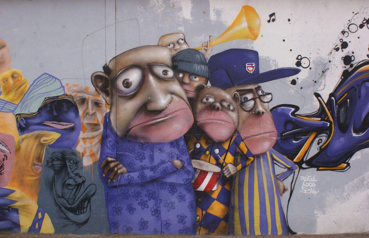 Street Art : Graffitis & Fresques Murales 37195 La Riche