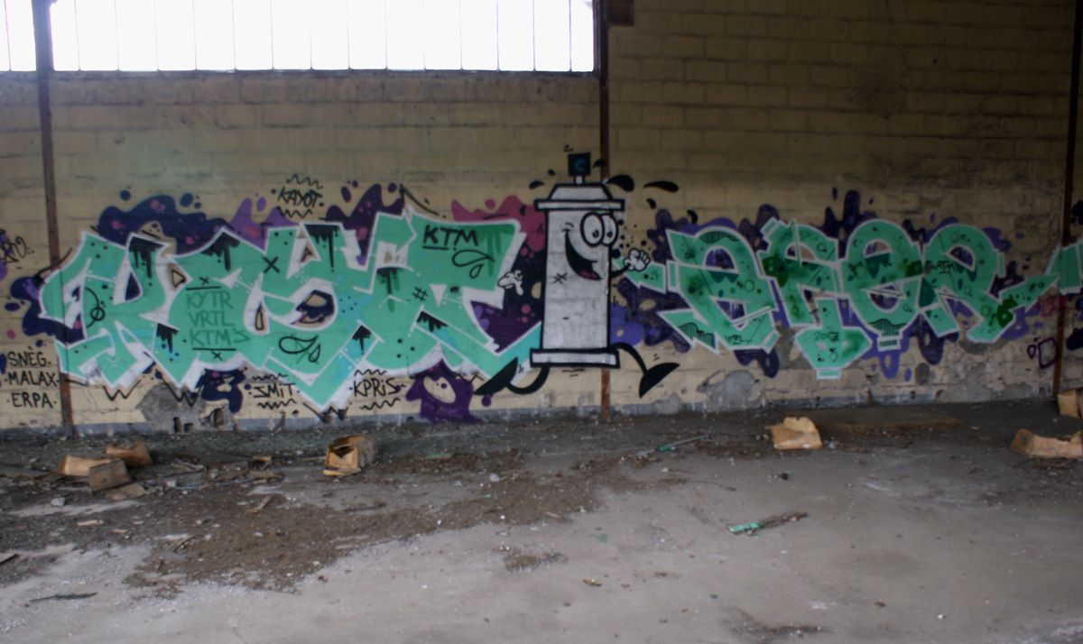 Album - Graffitis Dept 37 Tom 002