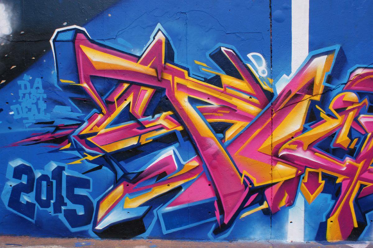 Album - Graffitis IVRY sur Seine Tom 024