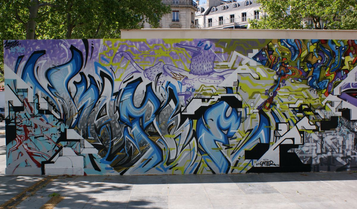 Album - Graffitis Paris Tom 043