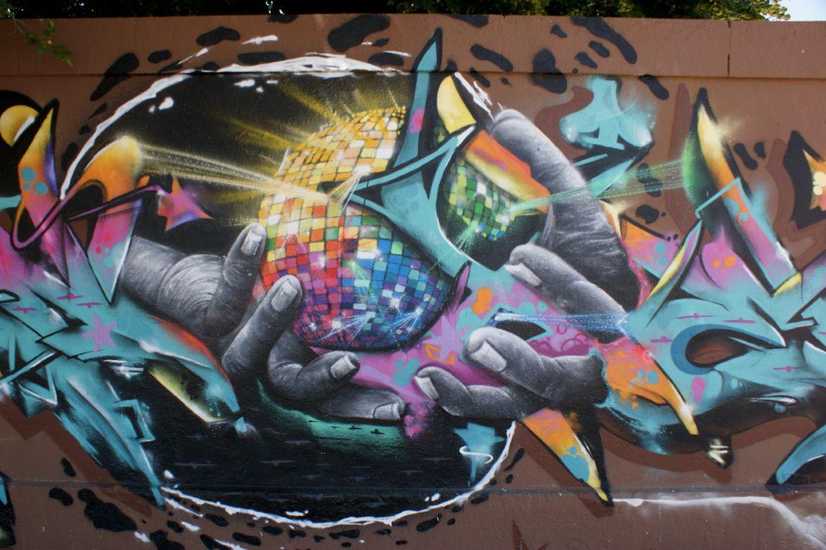 Street Art : Graffitis & Fresques Murales 17300 La Rochelle