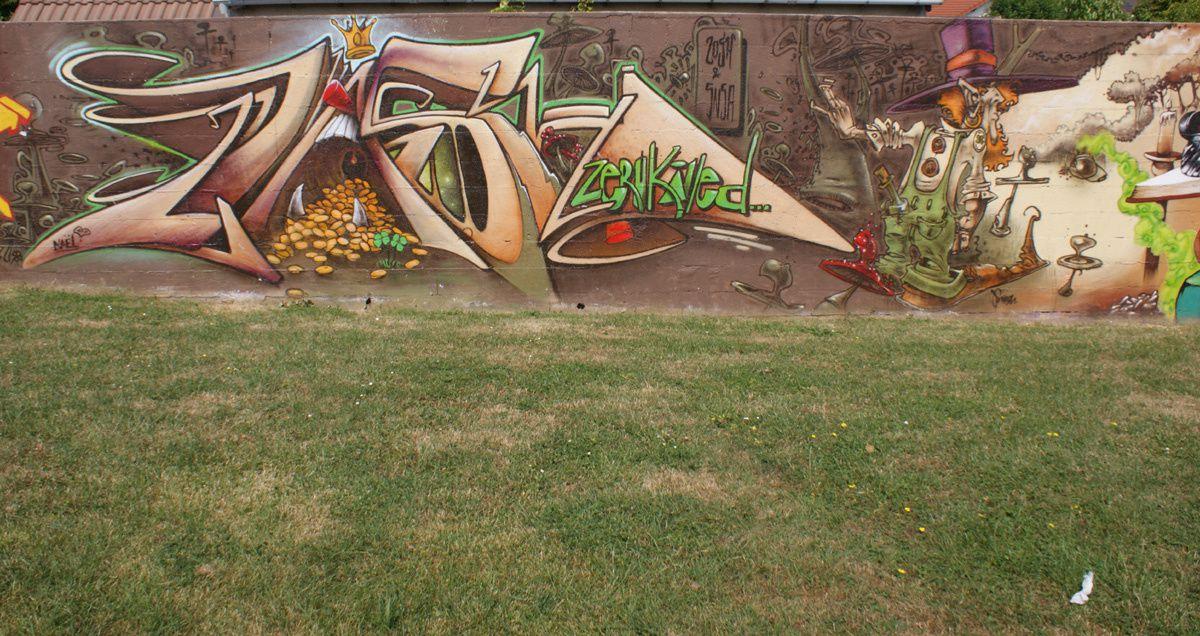 Street Art : Graffitis & Fresques Murales 95019 Arnouville