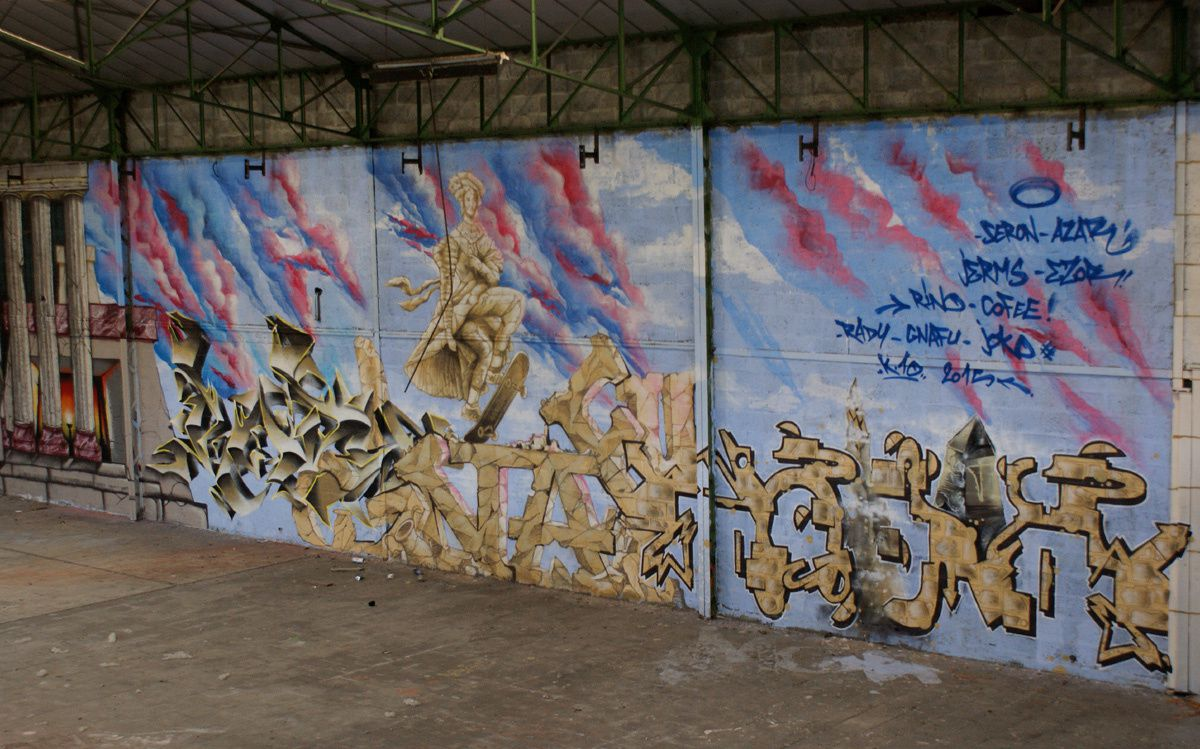 Album - Graffitis Dept 16 Tom 001