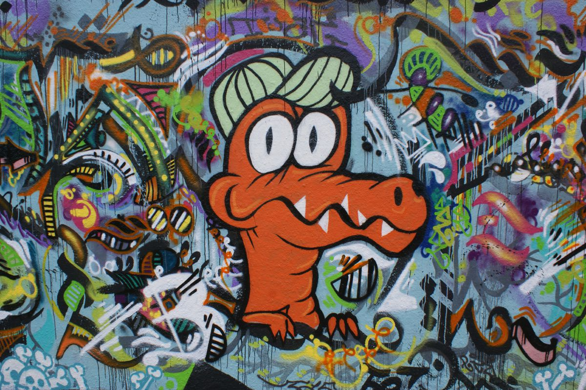 Album - Graffitis IVRY sur Seine Tom 024