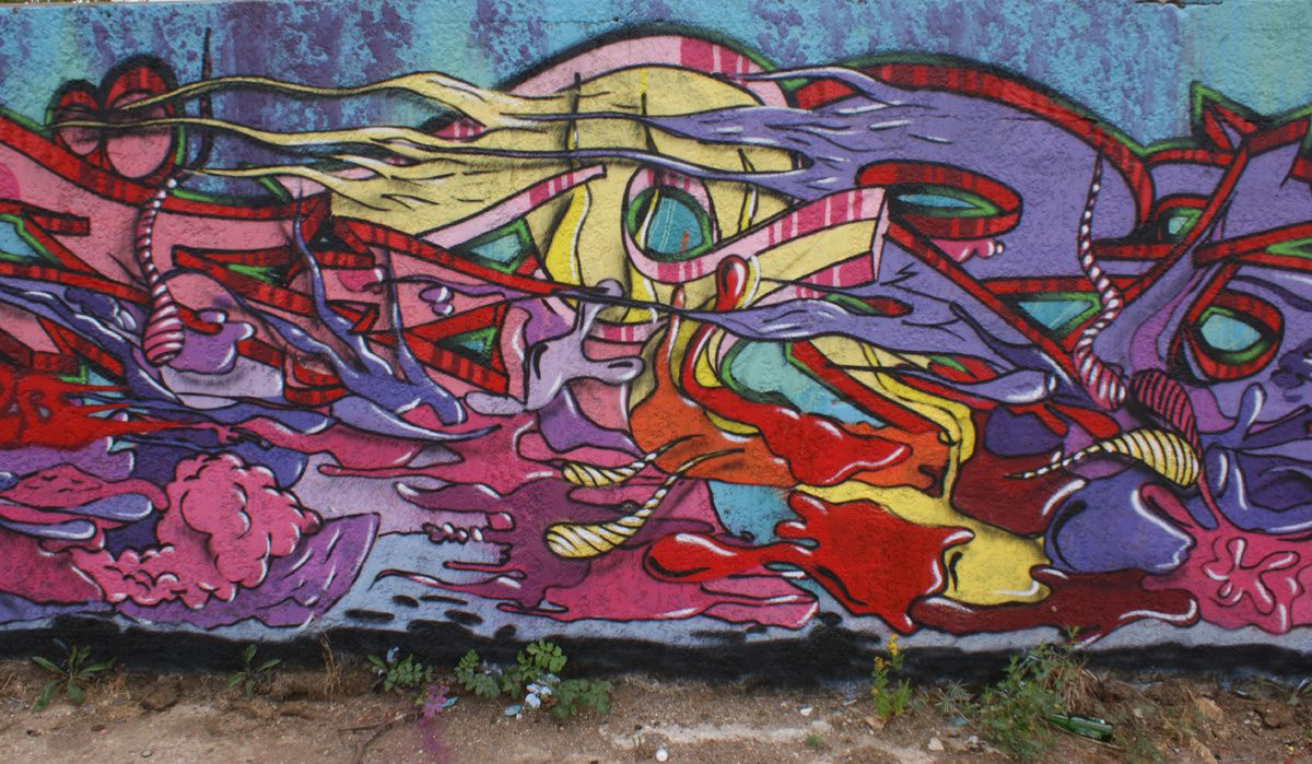 Street Art : Graffitis & Fresques Murales 27402 Le Mesnil Hardray