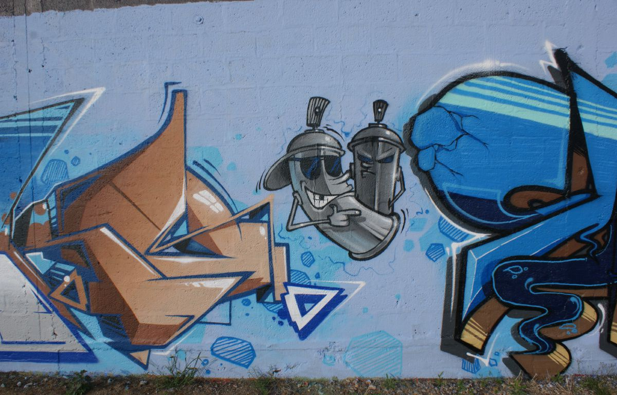 Street Art : Graffitis & Fresques Murales 76103 Bonsecours