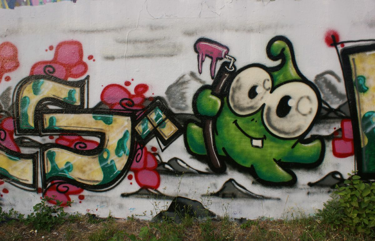 Street Art : Graffitis &amp&#x3B; Fresques Murales 54395 Nancy