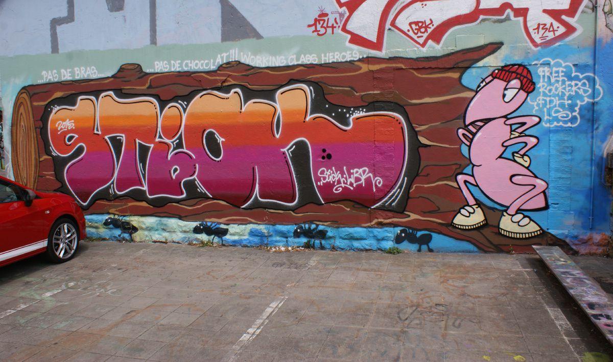 Album - Graffitis Luxembourg Tom 001