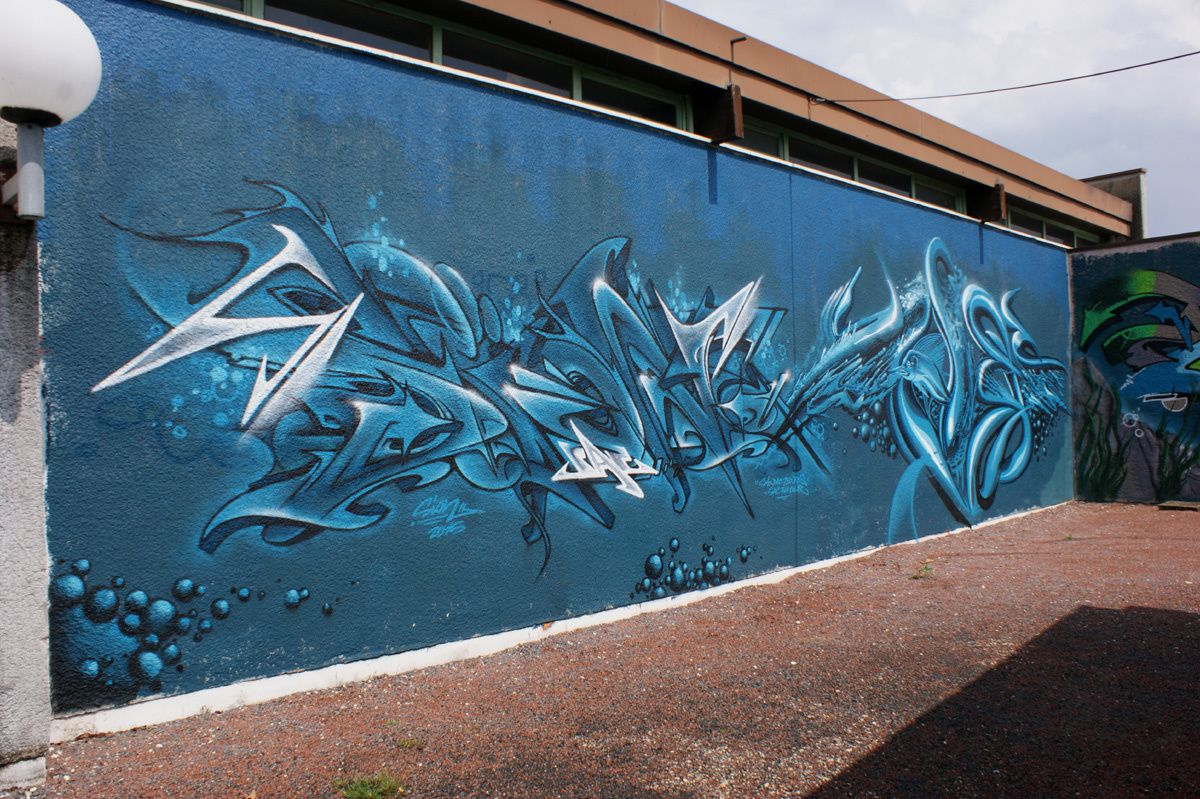 Street Art : Graffitis & Fresques Murales 33433 Saint Loubes