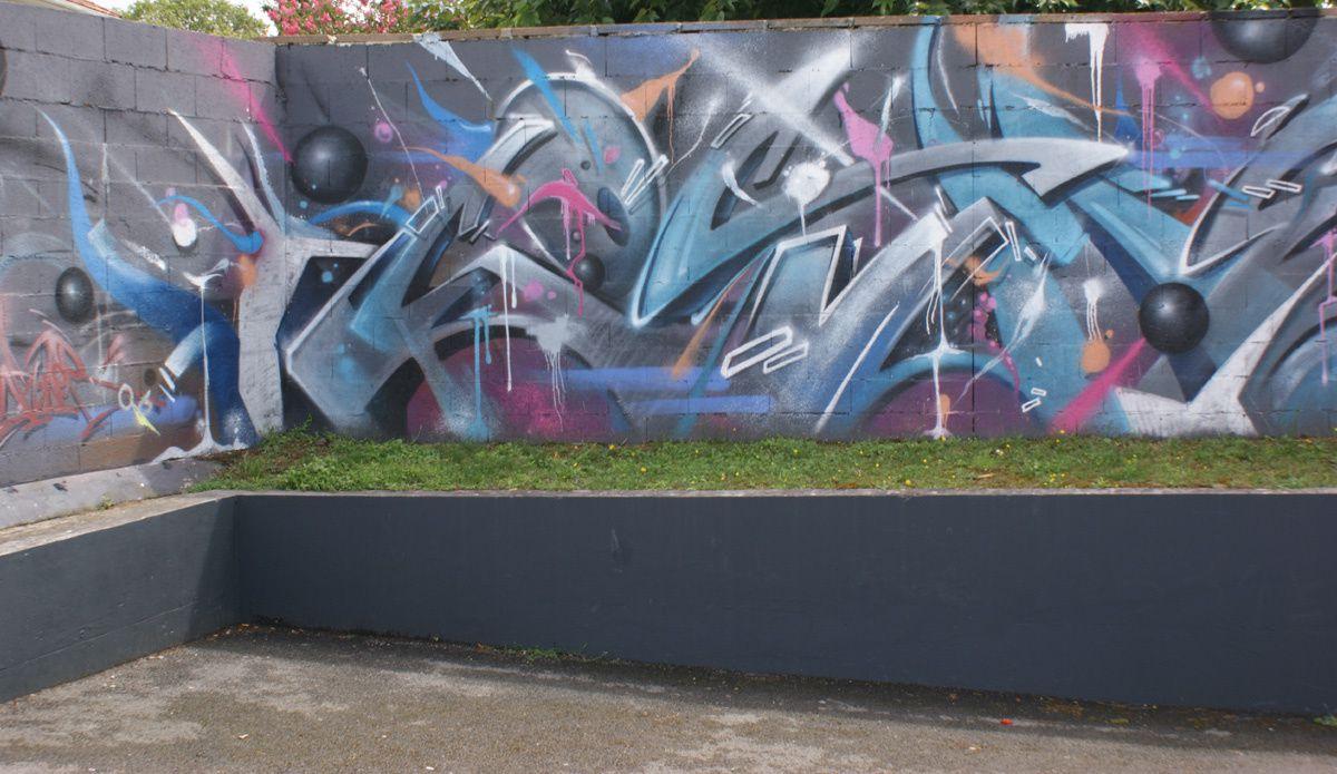 Street Art : Graffitis &amp&#x3B; Fresques Murales 33119 Cenon