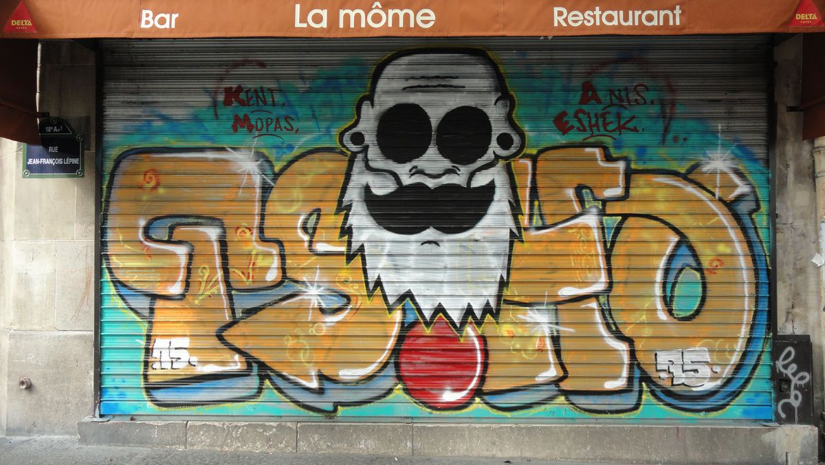 Album - Graffitis Paris Tom 044