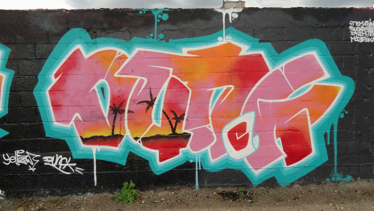 Street Art : Graffitis & Fresques Murales 93000 Bobigny