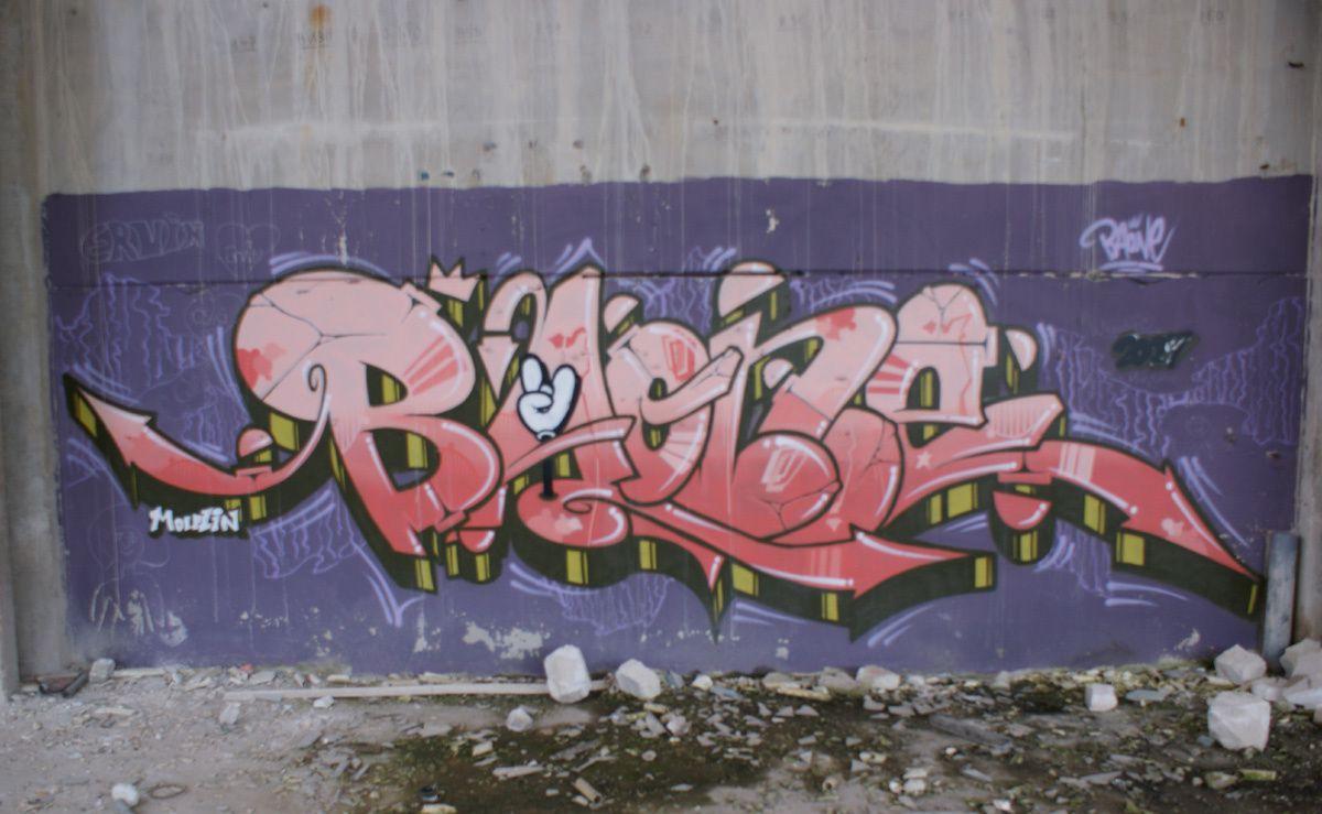 Street Art : Graffitis & Fresques Murales 57631 Sarreguemines