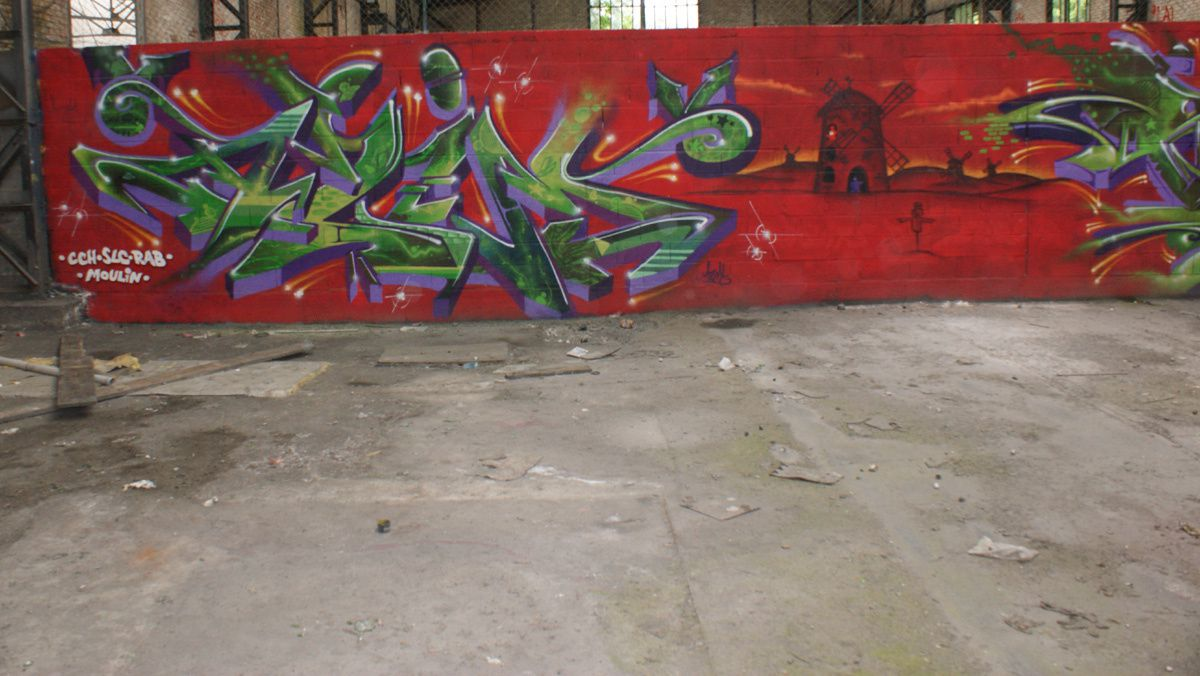 Street Art : Graffitis &amp&#x3B; Fresques Murales 57631 Sarreguemines
