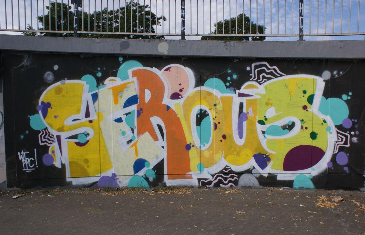 Street Art : Graffitis & Fresques Murales 54292 Trier (Allemagne)