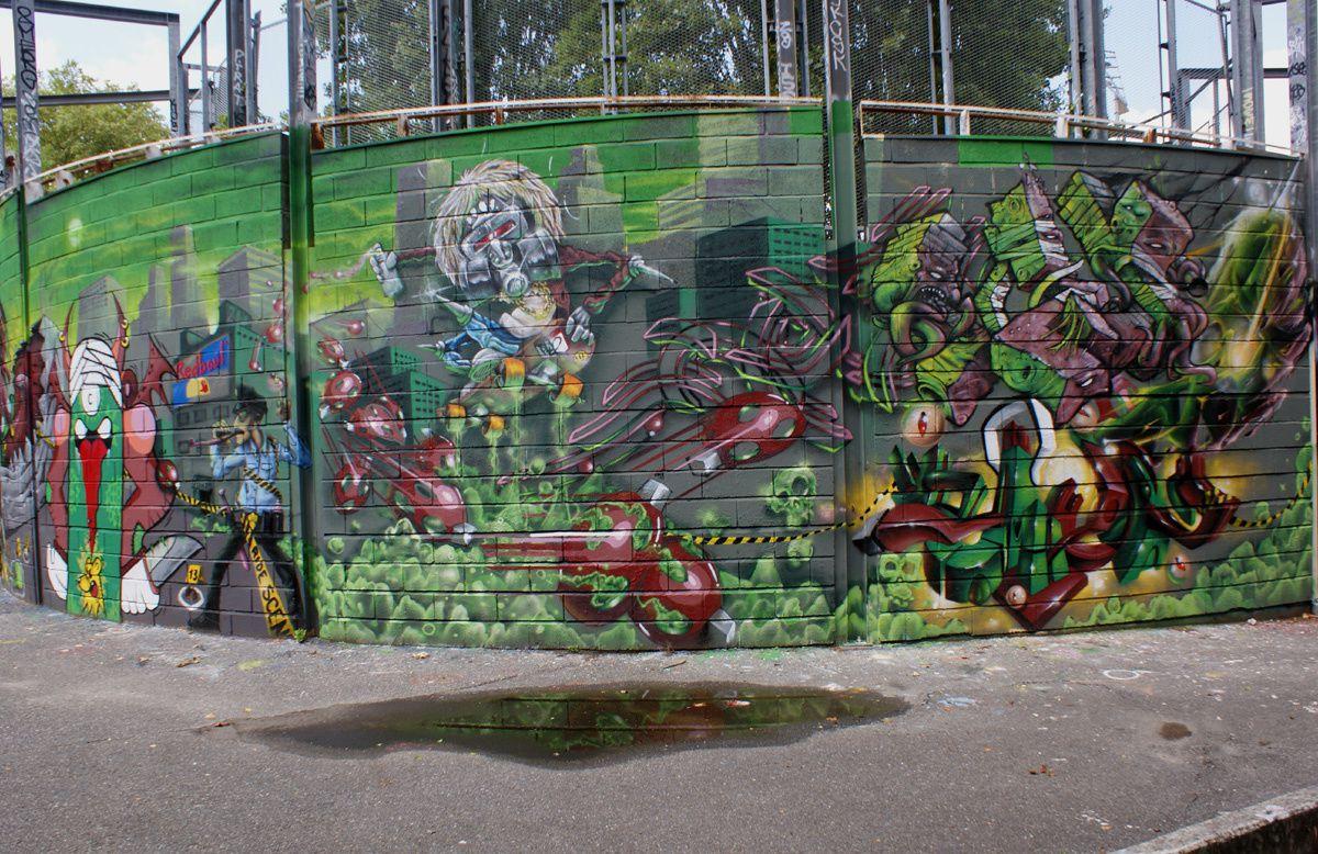Street Art : Graffitis & Fresques Murales 31446 Ramonville