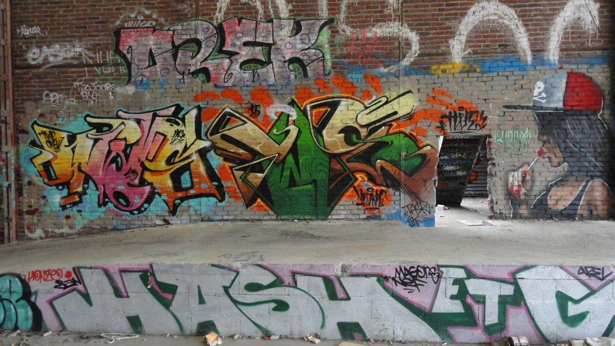 Street Art : Graffitis & Fresques Murales Département Hauts de Seine