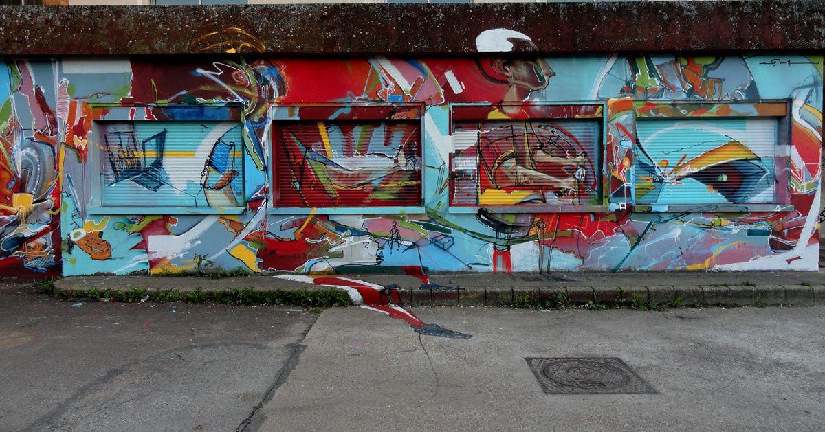 Street Art : Graffitis & Fresques Murales 76000 Rouen