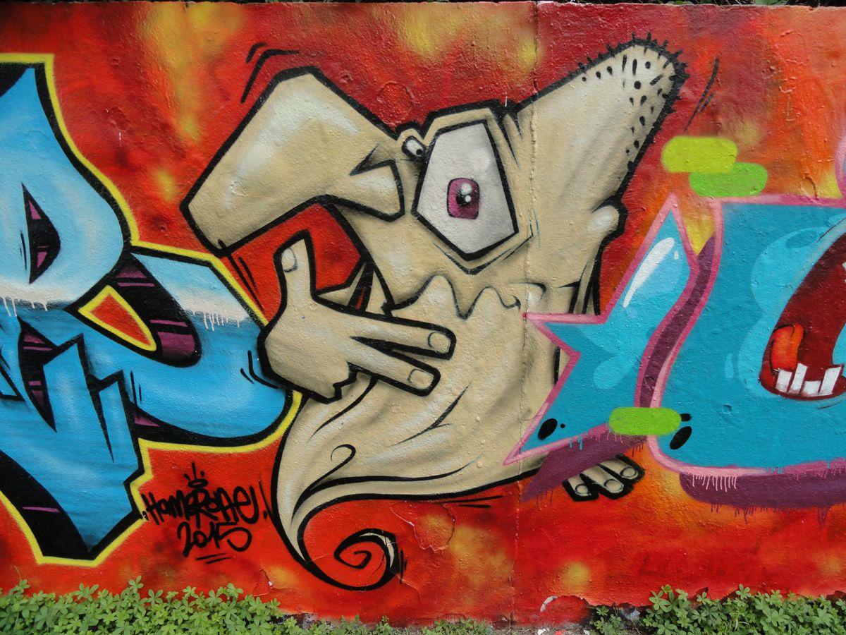 Street Art : Graffitis & Fresques Murales 77108 Chelles