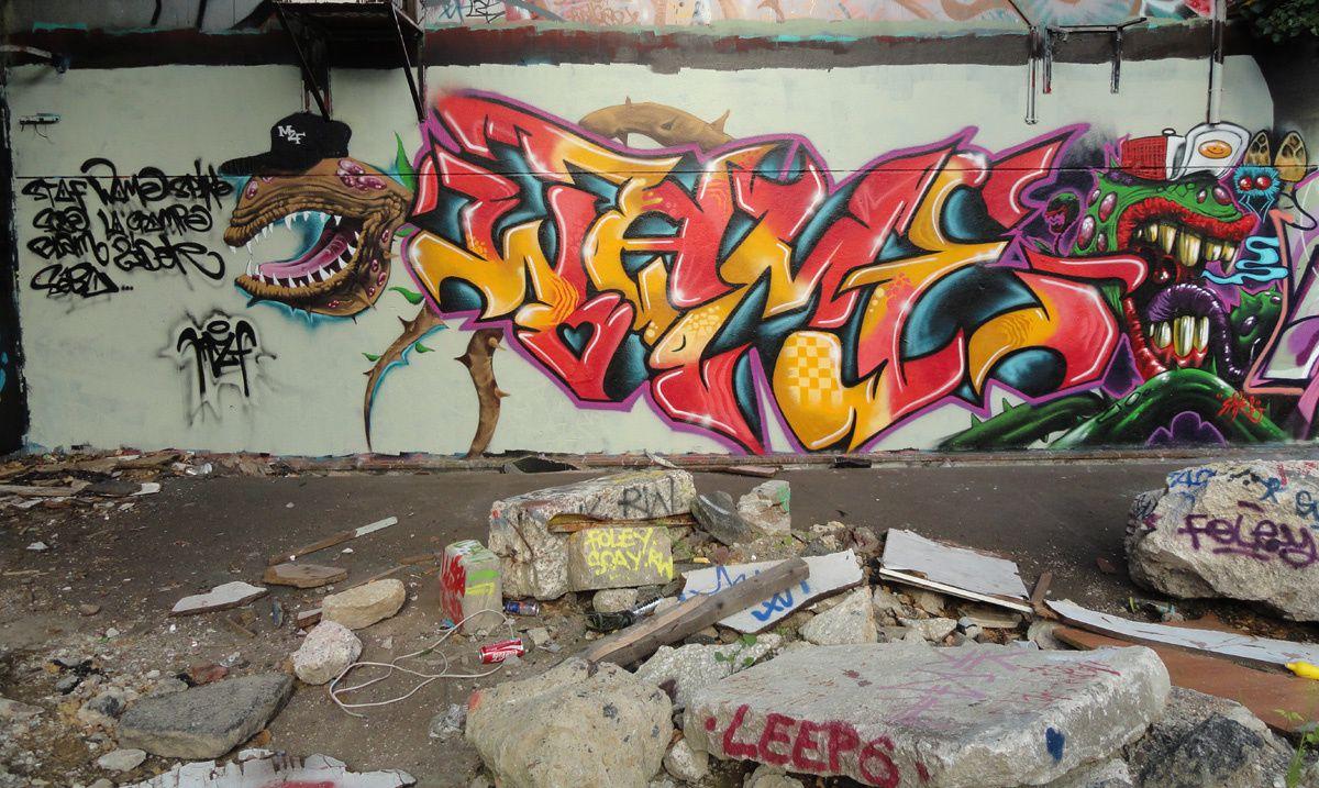 Street Art : Graffitis & Fresques Murales 91120 Palaiseau