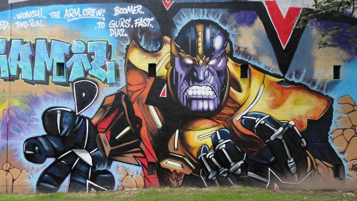 Street Art : Graffitis & Fresques Murales 75015 Paris