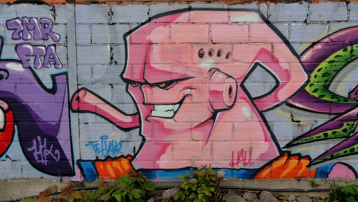 Street Art : Graffitis & Fresques Murales 92046 Malakoff