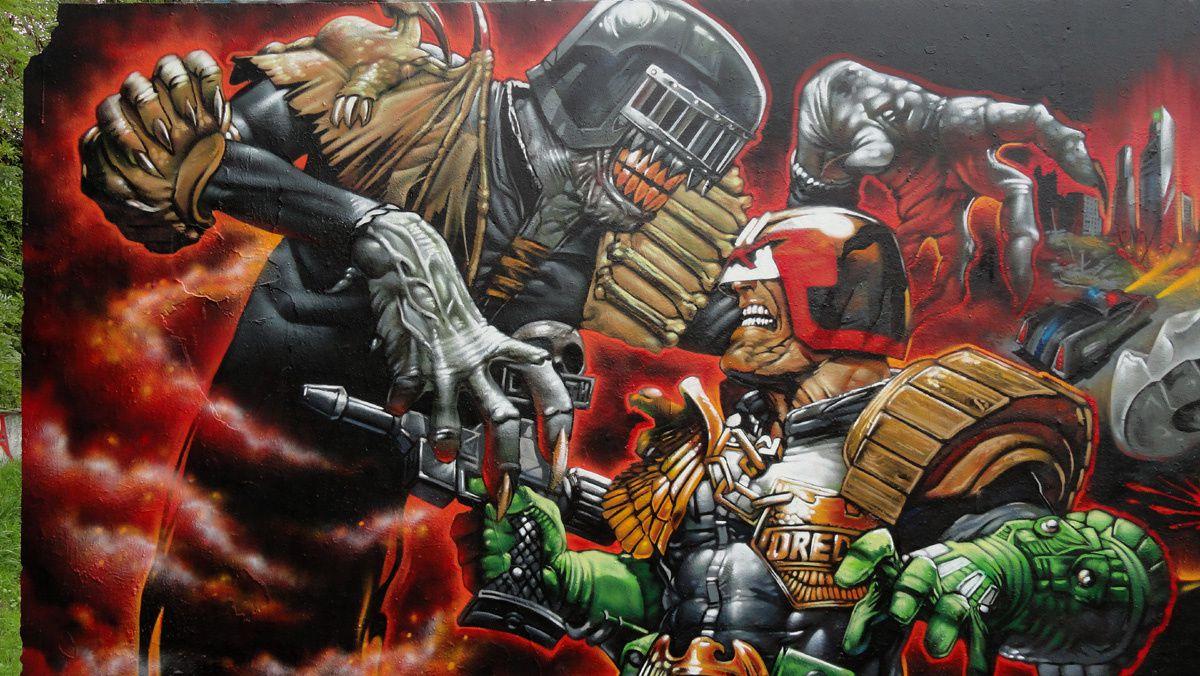 Street Art : Graffitis & Fresques Murales 91312 Igny