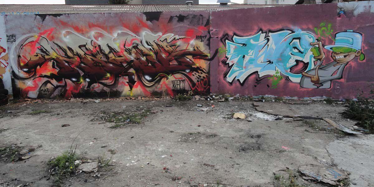 Street Art : Graffitis &amp&#x3B; Fresques Murales 93071 Sevran