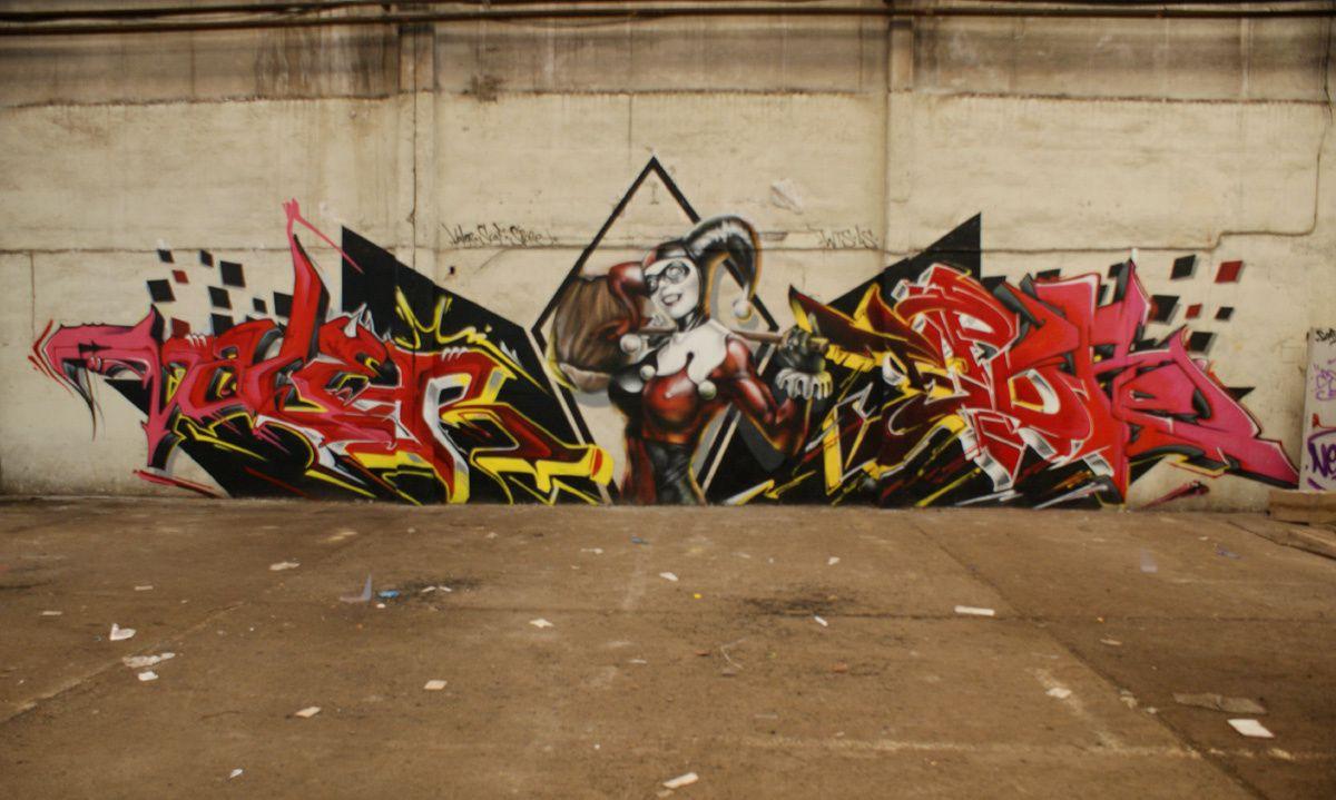 Street Art : Graffitis & Fresques Murales Département Meurthe & Moselle (54)
