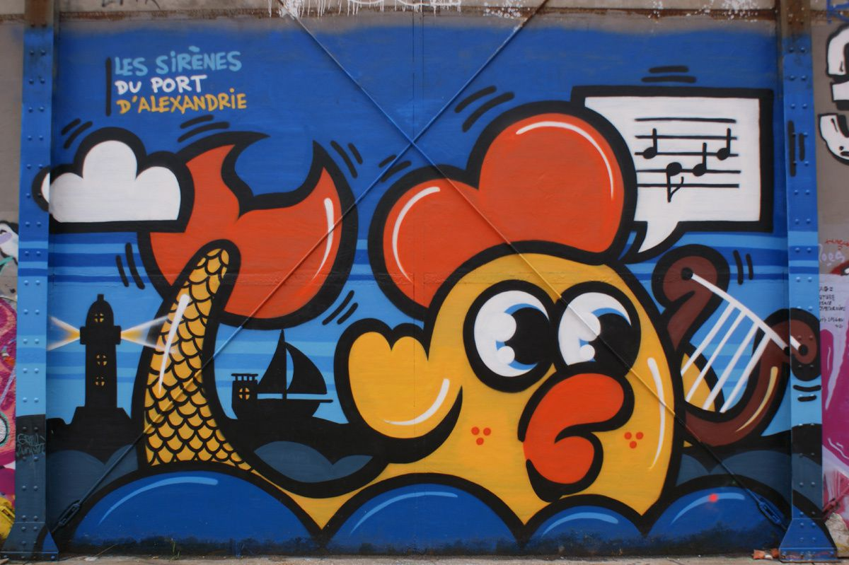 Album - Graffitis Caserne Niel Bordeaux Tom 008