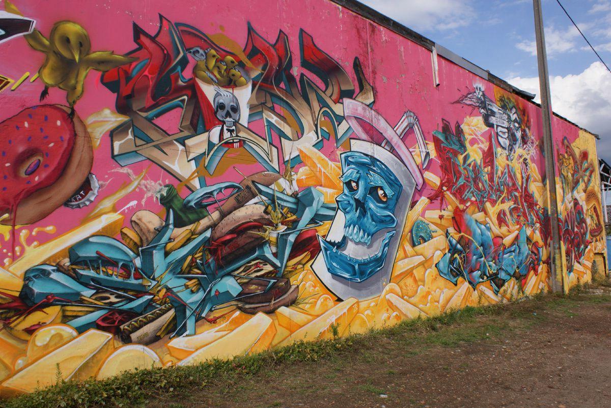Street Art : Graffitis &amp&#x3B; Fresques Murales 33167 Floirac