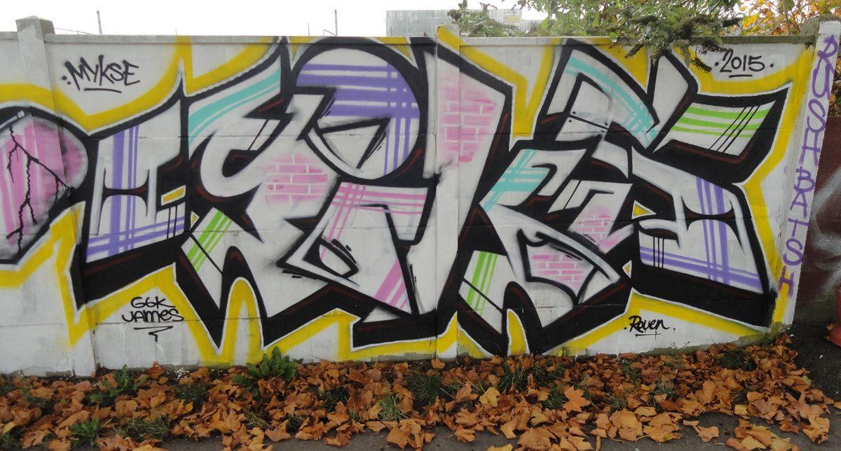 Street Art : Graffitis &amp&#x3B; Fresques Murales 76540 Rouen