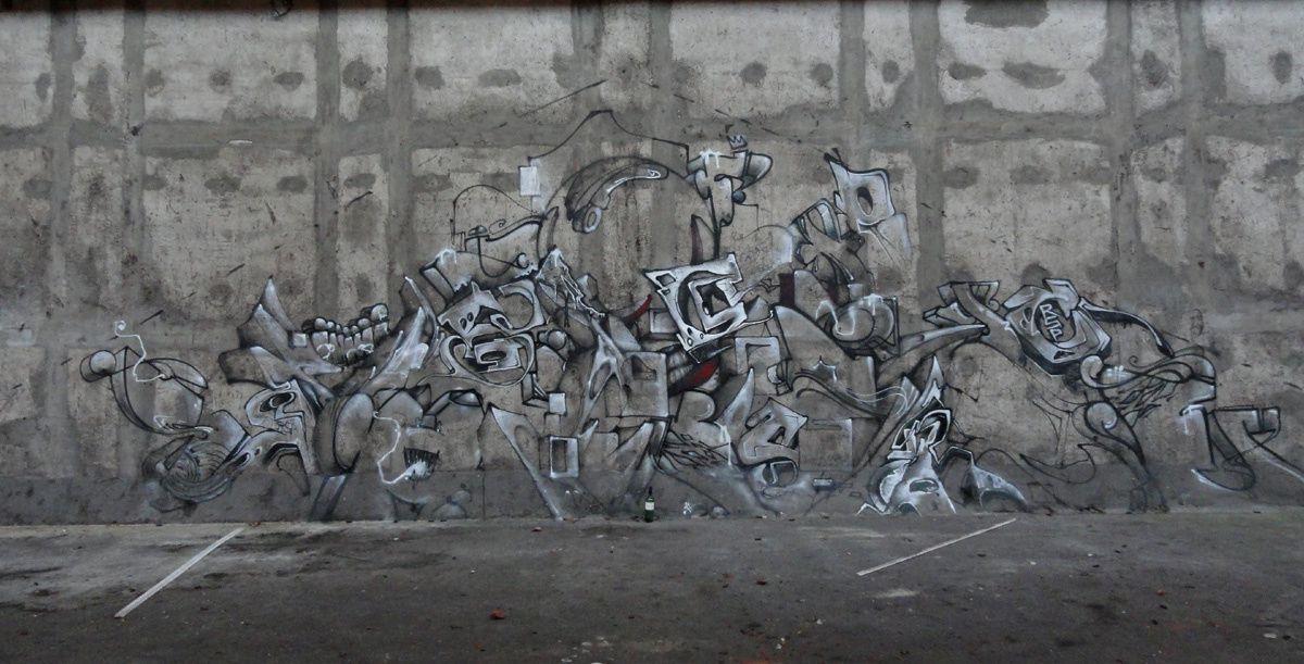 Street Art : Graffitis &amp&#x3B; Fresques Murales Département du Nord (59)