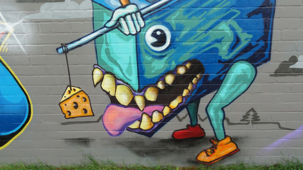Street Art : Graffitis &amp&#x3B; Fresques Murales Anvers (Belgique)
