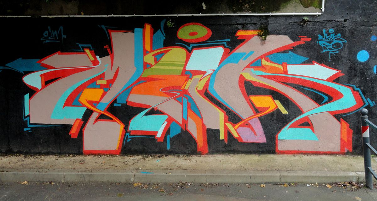 Street Art : Graffitis &amp&#x3B; Fresques Murales 91687 Viry Chatillon