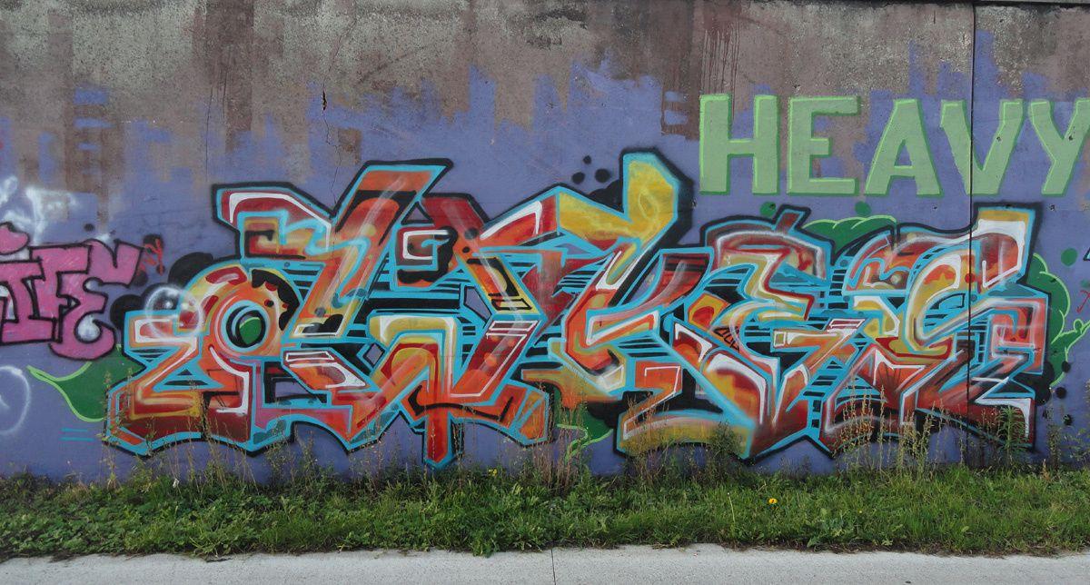 Street Art : Graffitis & Fresques Murales Sint Niklass Flandre Belgique