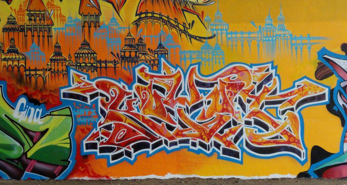Street Art : Graffitis & Fresques Murales Overijse Flandre Belgique