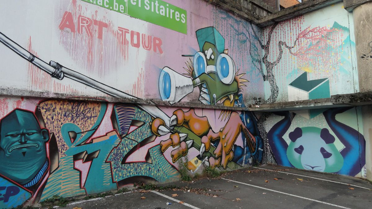 Album - Graffitis Belgique Tom 004