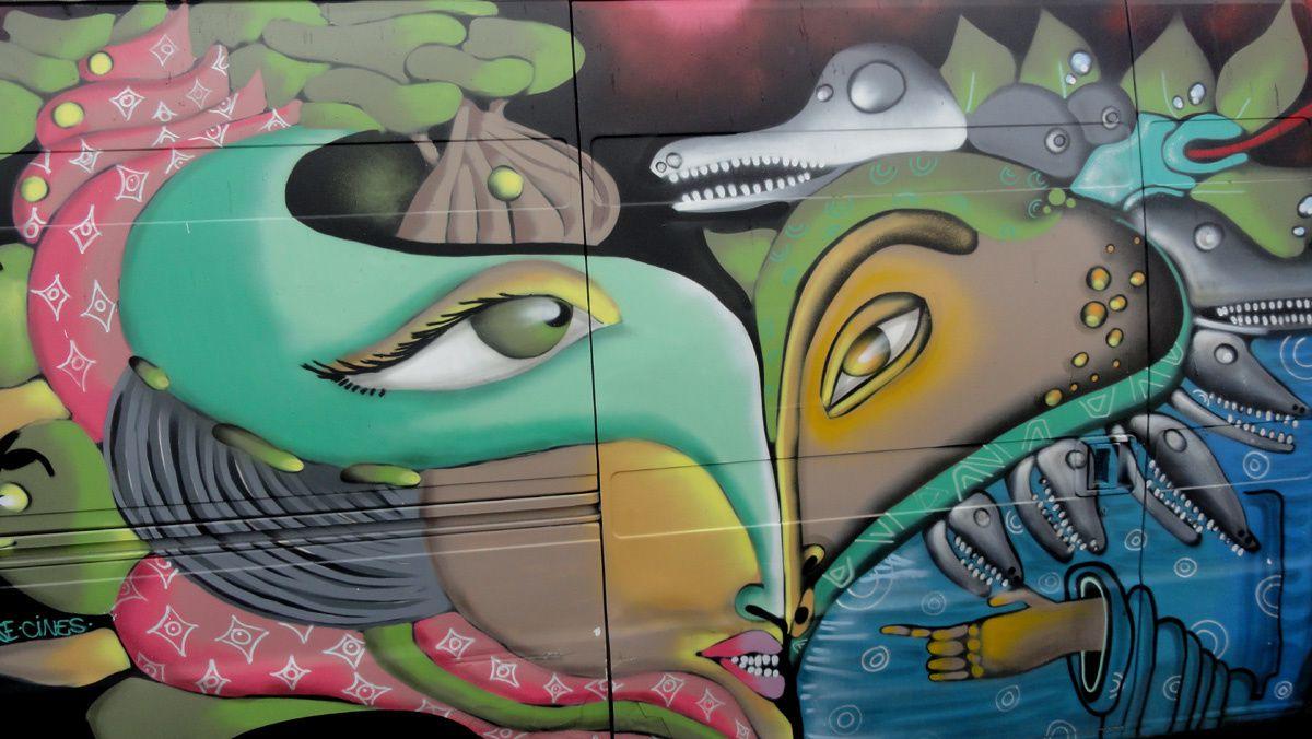 Street Art : Graffitis & Fresques Murales 94076 Villejuif