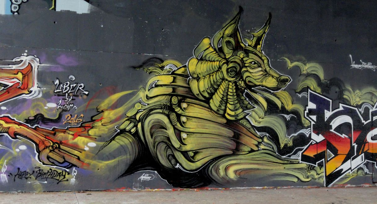 Street Art : Graffitis &amp&#x3B; Fresques Murales 95127 Cergy