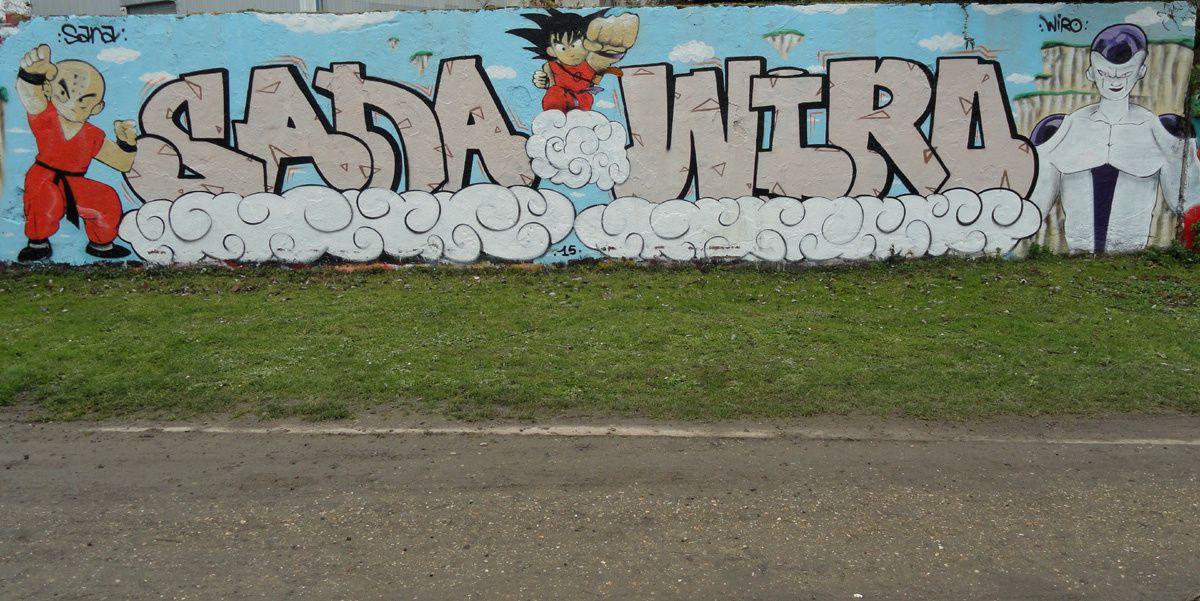 Street Art : Graffitis &amp&#x3B; Fresques Murales 78361 Mantes la Jolie