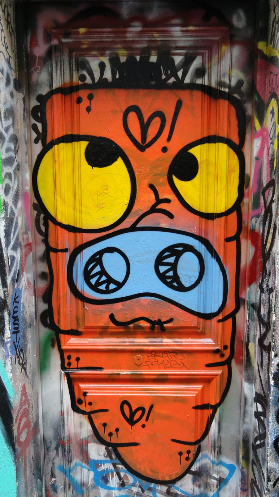 Album - Graffitis Paris Tom 050